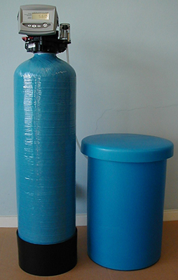 Typical Commercial Water Softener Unit